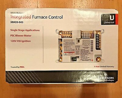 NEW White Rodger 50A55-843 Universal Integrated Fan Control