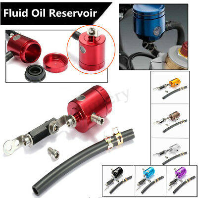 Motorcycle Bike Master Cylinder Front Brake Clutch Tank Reservoir Fluid Oil Cup