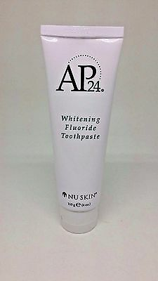 Nu Skin nuskin Authentic AP24 Whitening Fluoride Toothpaste -1 Tube 110g, 4 oz.