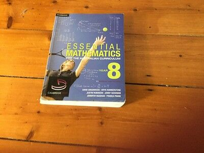 Essential Mathematics for the Australian Curriculum Year 8 and Cambridge...