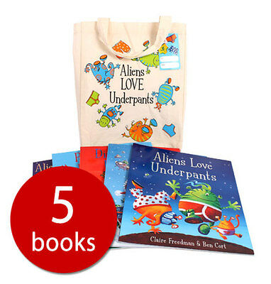 Aliens Love Underpants Collection - 5 Books