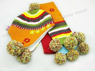 Toddler / Children / Kids Beanie and Scarf Set