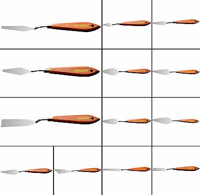 Professional Painting Palette Scraper Spatula Knives for Artist Painting Tools