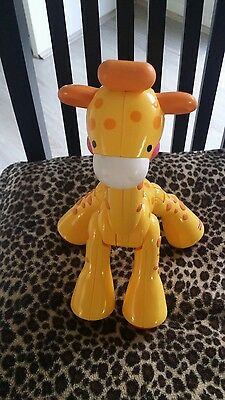 Fisher Price Baby Giraffe Moveable Legs,arms And Neck