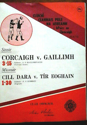Cork V V Galway 23/9/1973 Gaa All Ireland Gaelic Football Final
