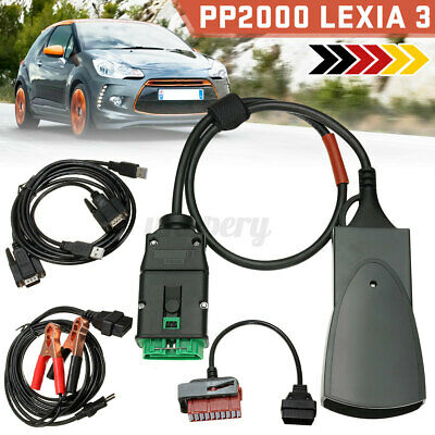 For Peugeot Citroen PP2000 Lexia 3 OBD2 Diagnostic Interface Scan Tool Diagbox