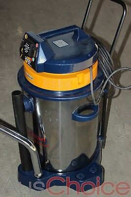 Gisowatt PC 50 Tools 1350W Wet & Dry Stainless Steel Vacuum Clean -Missing Parts