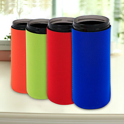 8PCS Neoprene Cooling Beer Drinks Bottle Tin Can Cooler Sleeve Holder 24ounce