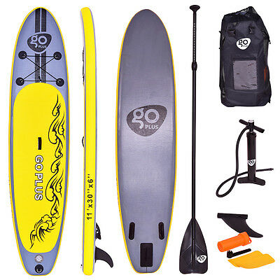 Stand Up Board Set Paddle Board Sup-Board Surfboard Paddelbrett aufblasbar 335cm