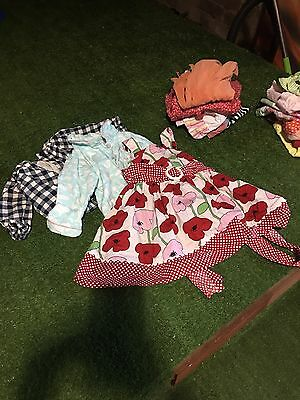 Bulk Baby Girl Clothes Size 00, 0