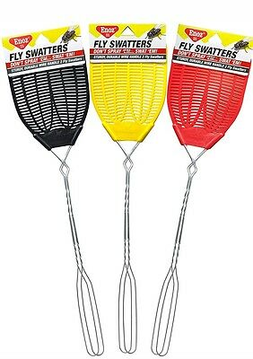 Enoz Fly Swatter 2ct New CHOOSE THE COLOR