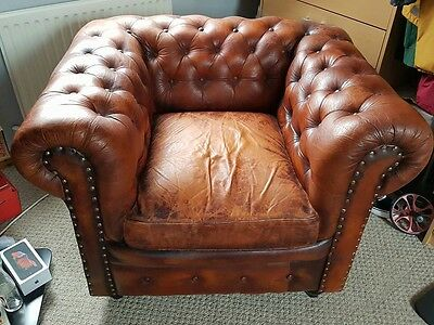 Chesterfield Chair leather