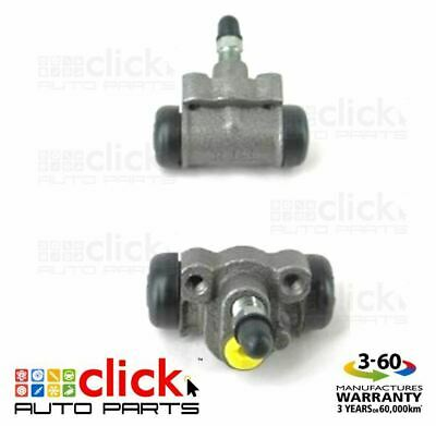 PAIR BRAKE WHEEL CYLINDERS for REAR HOLDEN BARINA MH HATCH 10/1991-05/1994