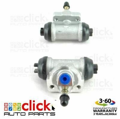PAIR BRAKE WHEEL CYLINDERS for REAR NISSAN PULSAR N13 ALL TYPES 7/1987-9/1991