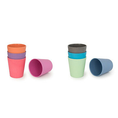 Bobo & Boo Kids Bamboo Cups Pack of 4 - Made From Natural Materials