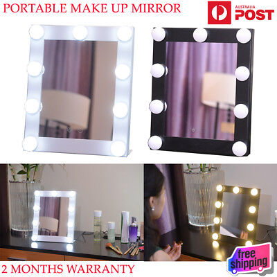 Hollywood Makeup Mirror with 9 LED lights Vanity Make up Lighted Mirror Beauty