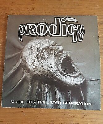 """The Prodigy – Music For The Jilted Generation 12"""" 2xLP Original 1994 Gatefold"""