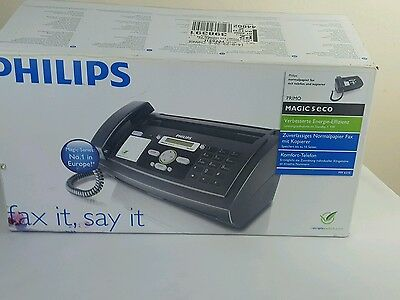 Phillips Pimo Magic 5 eco, fax it, say it - fax and telephone No.1 in Europe.