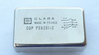 NEW 1PC CLARE CUPP2A2B112 CUP Reed Relay Coil Voltage 12 VDC PCB 10-PIN DIP