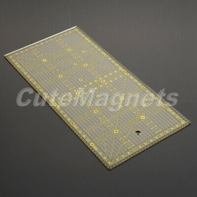 Quilting Quilters Craft Patchwork Rectangle Ruler Sewing Craft DIY Tools 30*15cm