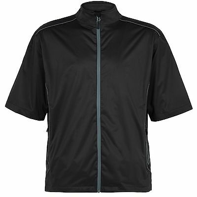 Sporte Leisure Men's Deacon Short Sleeve Waterproof Rain Jacket - Size Large