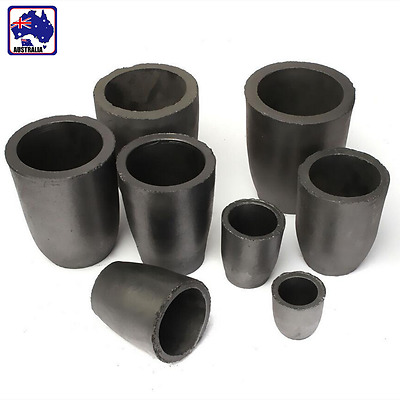 1/2/4/5/6/8/10 KG Graphite Foundry Crucible Melting Refining Gold Tool TYCT539