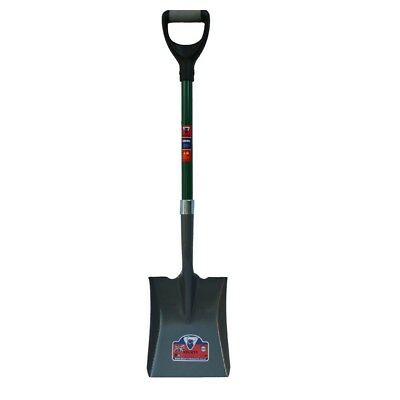 Square Mouth shovel with Fibre Glass Handle