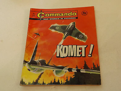 Commando War Comic Number 714!,1973 Issue,good For Age,44 Years Old,very Rare