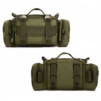 Large Capacity Outdoor Loaded Multi Function Bag Bait Box Fishing Pockets Green