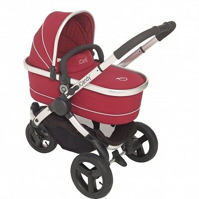 iCandy Peach Jogger Carrycot- Cranberry