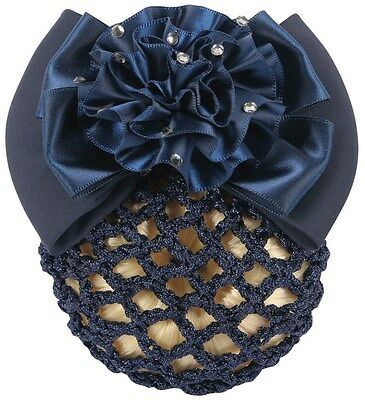 Harry's Horse Hair Clip with Net - Navy Harry's Horse