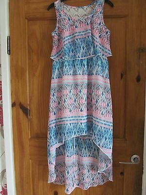 beautiful size 9-10 years floaty summer dress