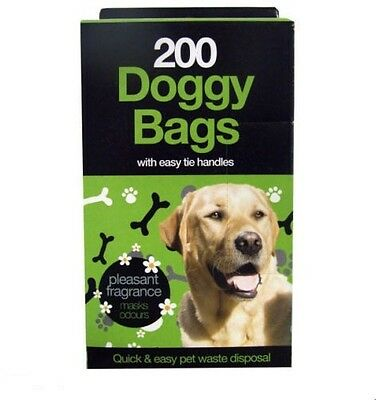 Doggy Bags -  Scented Waste/Poop disposal Bags: 200,400,800,1000