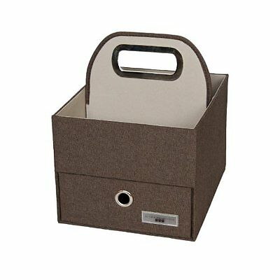 JJ Cole Heather Diaper and Wipes Caddy, Cocoa JDCCH