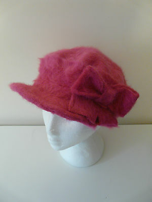 Wholesale Job Lot Lili And Poppy Ladies Pink Angora Baker Boy Caps Hats X 20