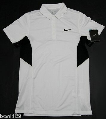Bnwt Men's Nike Court Sphere Dri-Fit Tennis Polo Shirt Xs