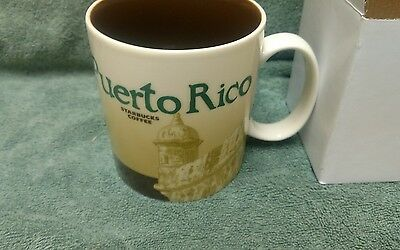 Starbucks Puerto Rico  Global Icon City Collector Series Mug 16oz Tea Coffee-