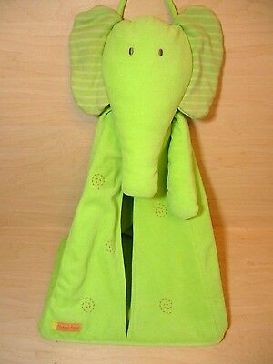 "Nappy Stacker - Mamas & Papas - Pale Green Eleflump Stacker - 22"" Tall - Ex Cond"