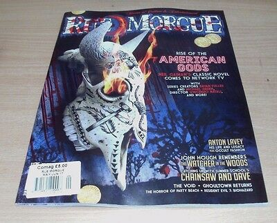 Rue Morgue magazine MAY/JUN 2017 Rise of the American Gods, Anton Lavey, Void