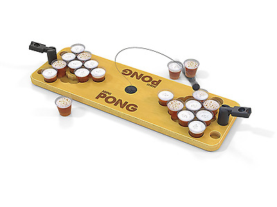 Mini Beer Pong Drinking Game Set Shot Bring The Party Anywhere Portable
