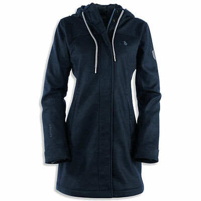 Tatonka Hanford Womens Coat Wollparka Damen modisch Temperaturregulierend
