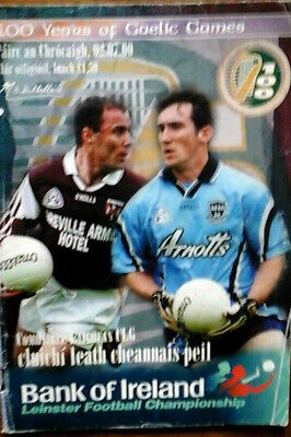 Dublin V Westmeath 2/7/2000 Gaa Leinster Gaelic Football Semi Final
