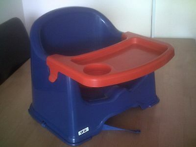 little star chair booster seat with tray