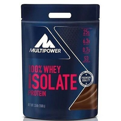 Multipower - 100% Whey Isolate, 1590 g. Proteine del siero del latte isolate
