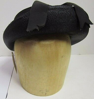 Vintage Wooden Head Hat Block Form Mold Stand Millinery Display Marked Size 22