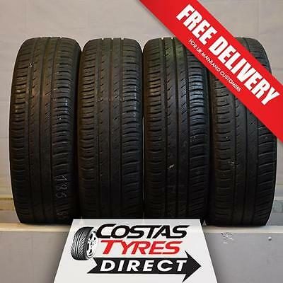 4 x 185 65 15 Continental Eco Contact 3 88T No Repairs!