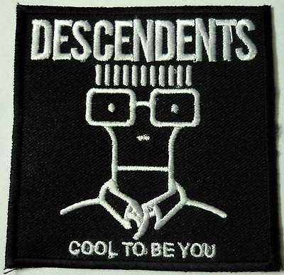 DESCENDENTS embroidery patch Black Flag  Adolescents Circle jerks 7seconds