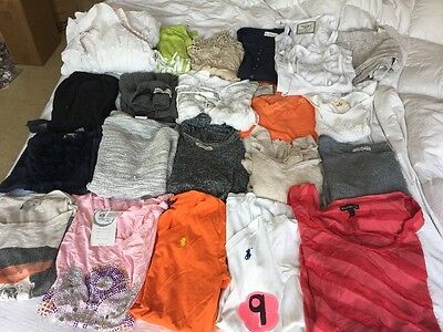 Pre-Owned Women Huge Mixed Lot Size S Small Used Shirts Skirt Blouses See Pics
