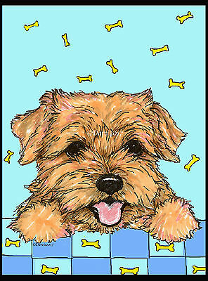 Norfolk Terrier note cards  add a short message inside Free