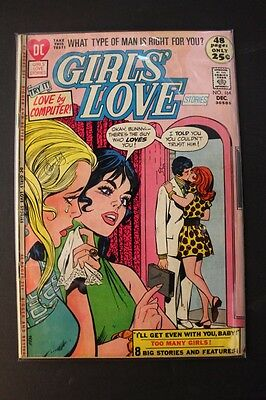 VINTAGE COMIC DC Girls' Love No. 164 Dec. 1971 LOVE BY COMPUTER